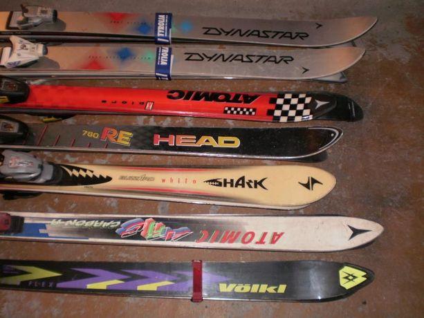 Narty Atomic, Blizzard, Volki, Dynastar, buty narciarskie.