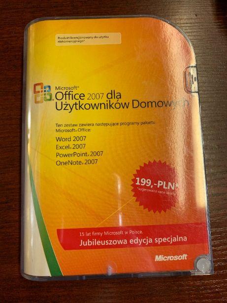 Microsoft Office 2007 BOX oryginał Lublin