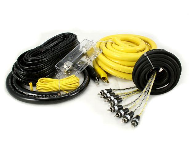 Profesjonalne Car Audio zestaw kabli montażowych do dużych mocy