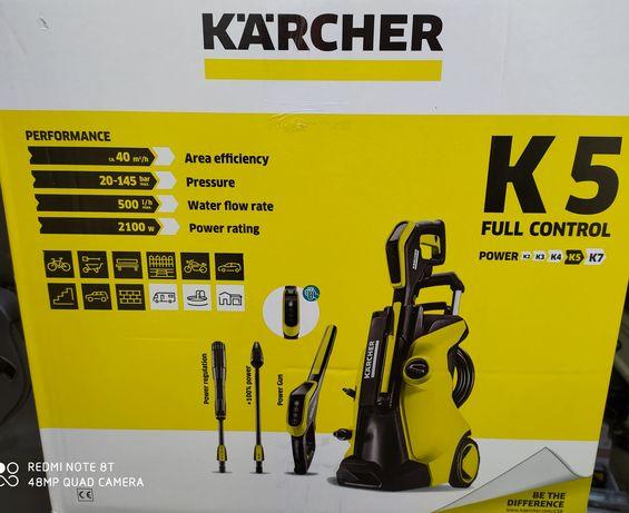 Мінімийка Karcher K 5 Full Contro Відправим вдень замовлення Оригінал!