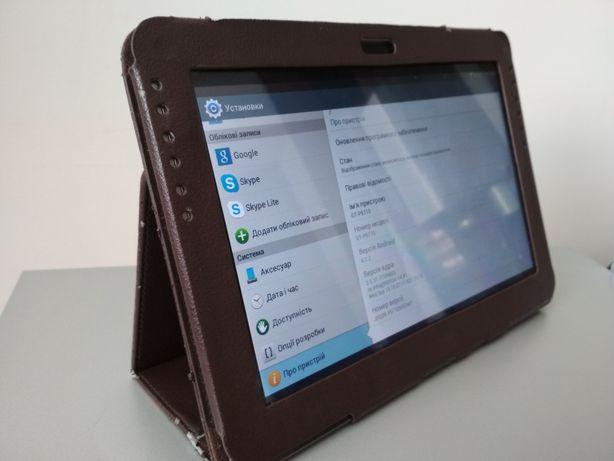 "Планшет  Samsung Galaxy Tab 2 10.1"" GTP5110 зарядка,чехол хорошее сост"