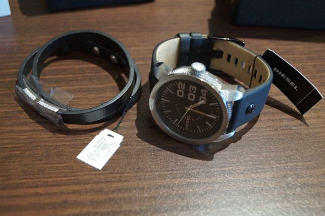 Diesel bransoleta + zegarek DZ1513