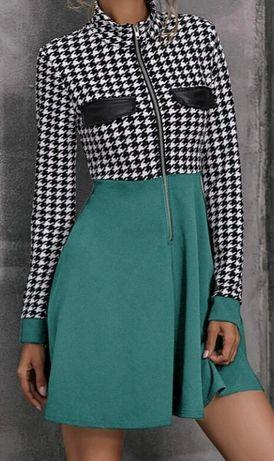 Nowa zielona sukienka SHEIN