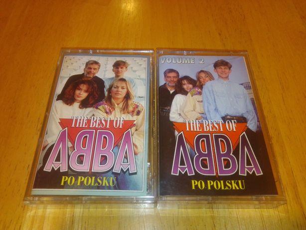 Kasety magnetofonowe Abba po polsku- 2 części