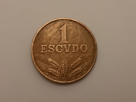 Moeda de 1 escudo 1973