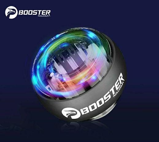 Гироскопический тренажёр для рук запястья Booster Powerball Gyroball