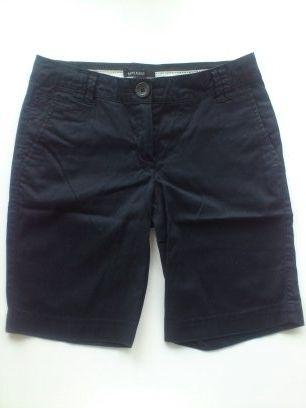 Krótkie spodnie granatowe MANGO rozm. 34 XS