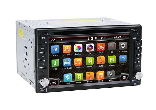 Radio 2 din ANDROID 10 GPS WiFi 3G dvd dotykowe 2G 32G bluetooth PL