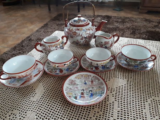 Naczynia porcelana