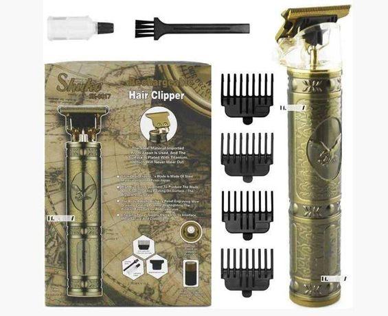Профессиональный триммер  машинка аккумуляторная для стрижки волос