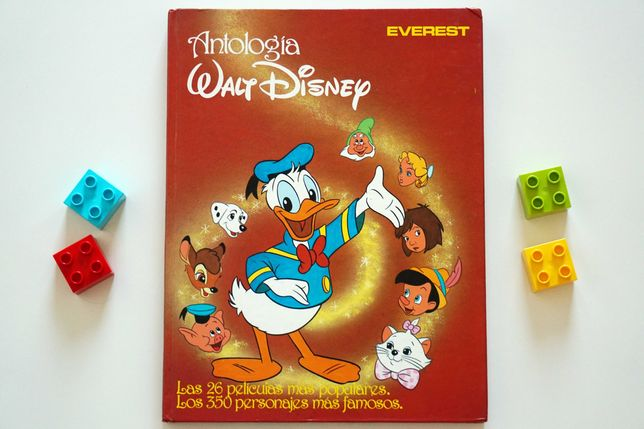 Antología Walt Disney - książka po hiszpańsku