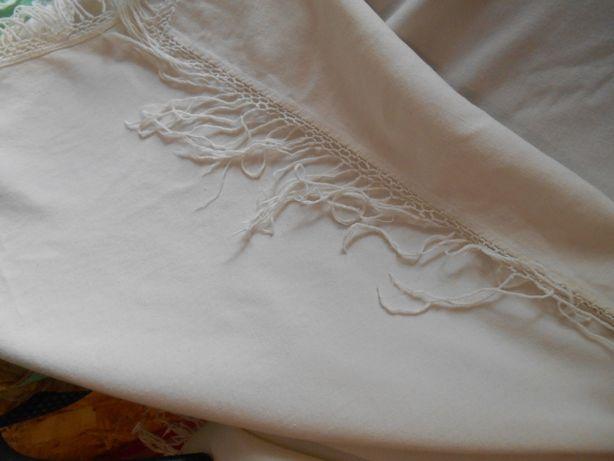 хустка, платок белый вовна, шесть. ссср