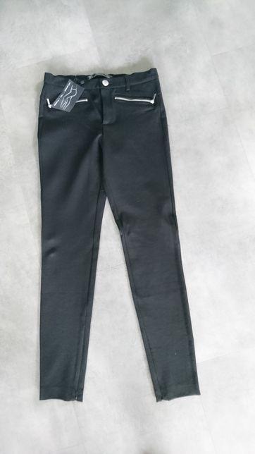 ZARA spodnie rurki nowe czarne rozmiar M