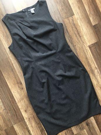 Szara sukienka H&M w rozm. 40 L