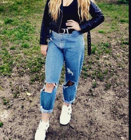 Трендовые джинсы МОМ