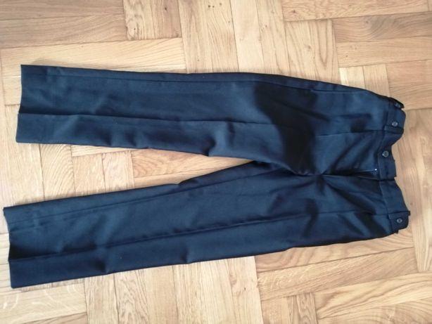 Spodnie garniturowe chłopięce czarne