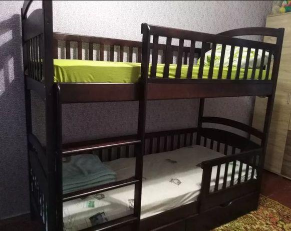 Супер акция! Двухьярусная кровать Карина с ящиками + матраси.