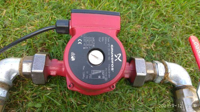Pompa do centralnego ogrzewania GRUNDFOSS,  BY-PASS, zbiorniczek