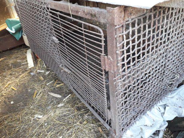Клітки металічні для нутрій, кролів...