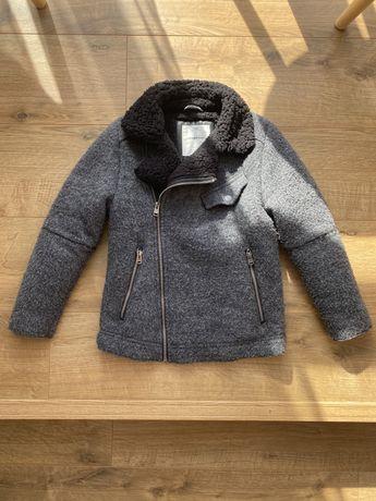Косуха zara, дубленка, шерпа, куртка , курточка