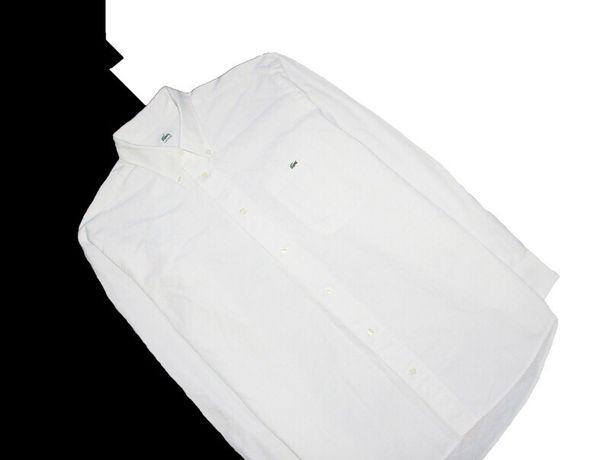 Белая рубашка lacoste tommy hilfiger