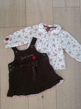 Komplet Wójcik 74 bluzka i sukienka