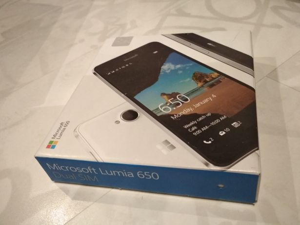 Microsoft Nokia Lumia 650 Dual SIM white, biała. Stan idealny!