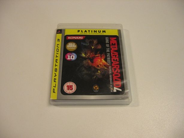 Metal Gear Solid 4 Guns of the Patriots - GRA Ps3 - Opole 1359