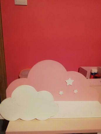 Półka chmurka różowa