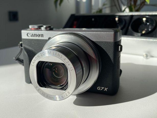 Canon PowerShot G7 X Mark III Silver – новый, гарантия до 29.04.2023