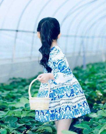 Стильное платье на маленькую модницу . Новое ( США )