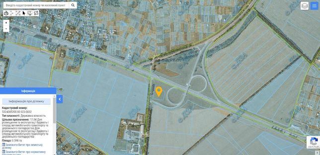 Земельна ділянка під комерційну забудову