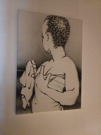 Tela africana [72 cm X 51 cm]