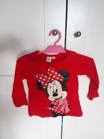 Bluzka Minnie Mouse r.80