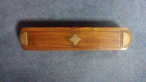 Lote 7 caixas em madeira