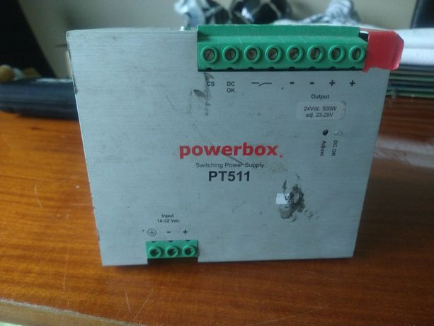 PowerBox PT511 zasilacz 500W 24V