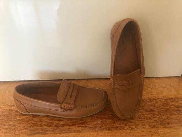 Buty skórzane Zara r.35 mokasyny