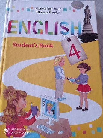 підручник English 4 клас