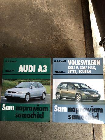 Sprzedam ksiazkę sam naprawiam VW Golf V