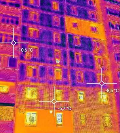 Тепловізійне обстеження будинку