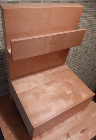 Mesa de cabeceira MALM IKEA