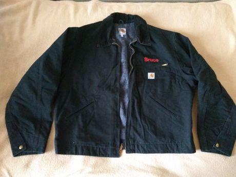 Куртка Carhartt теплая XL на подкладке из США оригинал made in USA