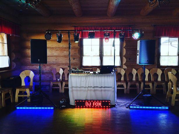 DJ FOX Tarnobrzeg Wesela imprezy okolicznościowe