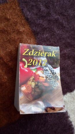 Sprzedam kartki z kalendarza rok 2012