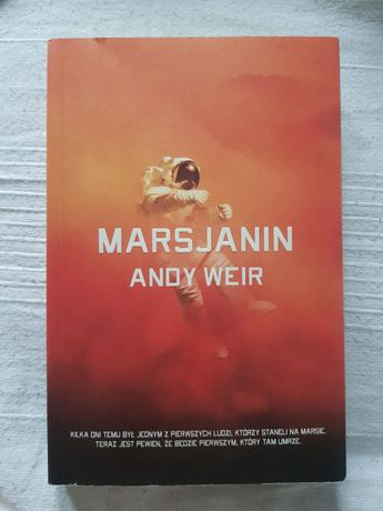 Książka Marsjanin Andy Weir