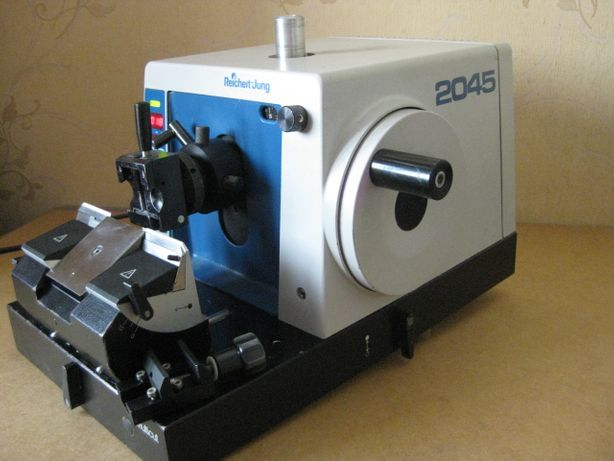 mikroskop LEICA 2045 mikrotom nóż do preparatów mikroskopowych Zeiss