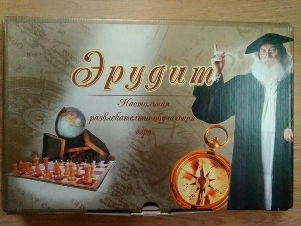 """Настольная развлекательно- обучающая игра """"Эрудит"""""""
