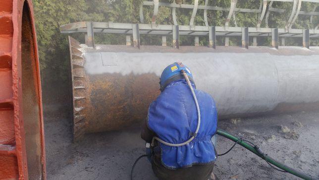 Sodowanie piaskowanie aluminium DUZE ZLECENIA metal cegła drewno BETON