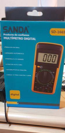 Multimetro Digital Novo na caixa