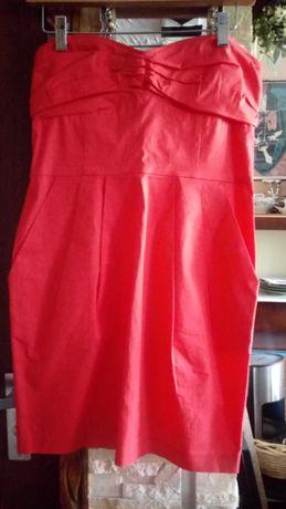 Sukienka*MNG*casual z dzianiny r.M bez ramiączek
